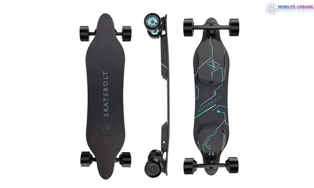 Test du Skate électrique BREEZE II de chez SKATEBOLT