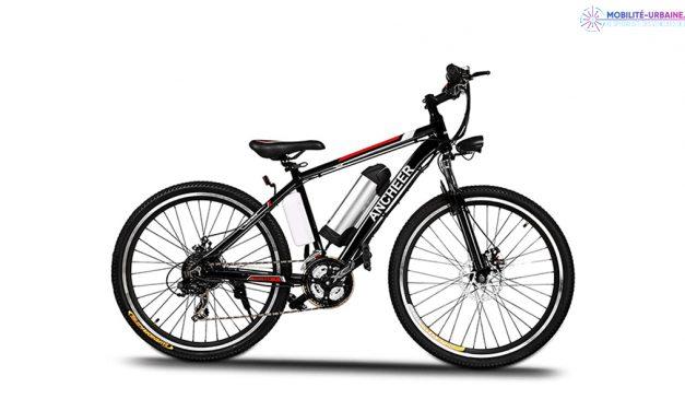 Test du vélo à assistance électrique AN-EB001 de chez Ancheer
