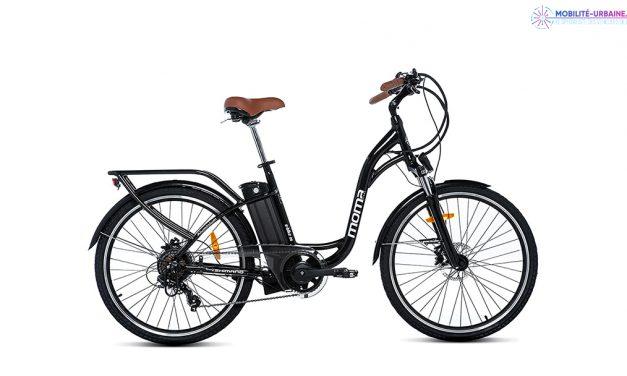 Test du vélo à assistance électrique Moma Bikes 26.2