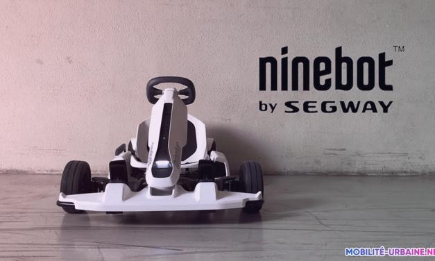Test du Gokart de chez Ninebot-Segway