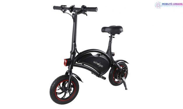 Test du vélo électrique pliant Windgoo
